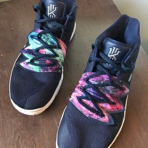 Kyrie 5s Multicolor Size 6 youth